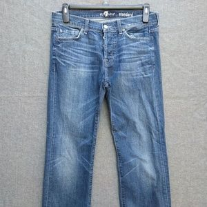 7 For All Mankind Standard Straight Distressed